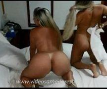 Melissa Pitanga em video porno de lesbica
