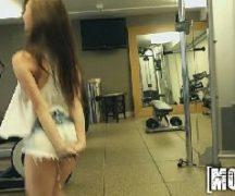 Sexzone safada dando dentro da academia para o seu personal